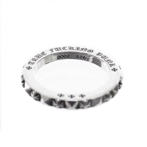 Chrome Hearts True Fucking Punk Plus Ring at Feuille Luxury - 3