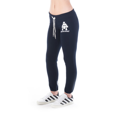 Chrome Hearts Unisex Triple CH Cross Sweatpants at Feuille Luxury - 2