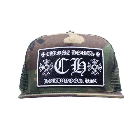 CH Patch Camo Trucker Cap