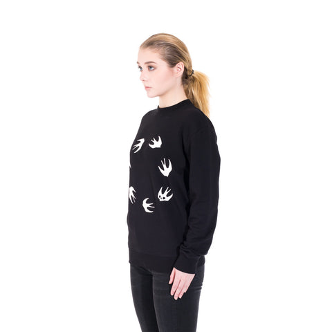 Alexander McQueen McQ Circle Swallow Sweater at Feuille Luxury - 4