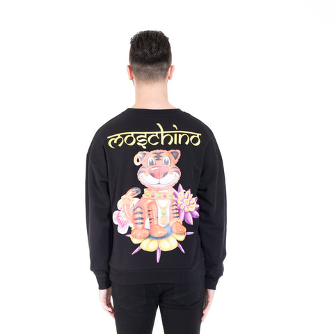 Moschino Tiger Sweater at Feuille Luxury - 4