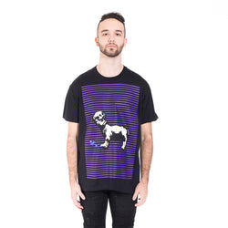 Chrome Hearts Foti Skeeter Stripe Tee at Feuille Luxury - 1