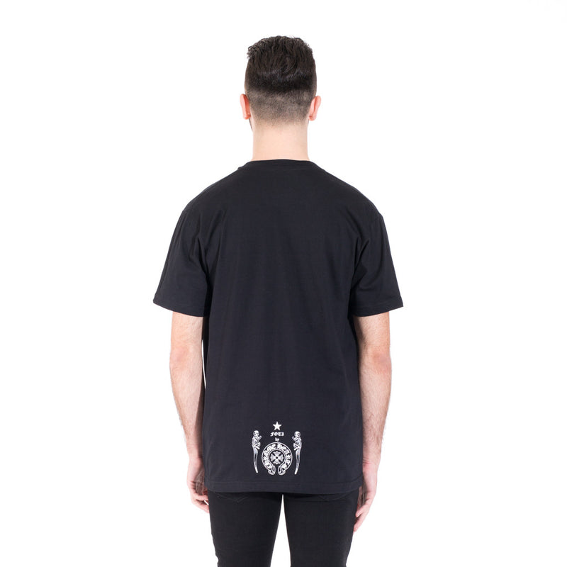 Chrome Hearts Foti Skeeter Stripe Tee at Feuille Luxury - 4