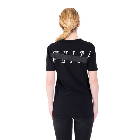 Off-White Mirror Skull Tee at Feuille Luxury - 6
