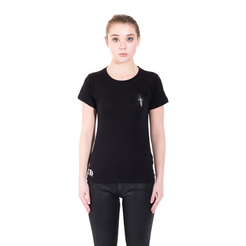Chrome Hearts Ladies CH Vine Dagger Tee at Feuille Luxury - 1