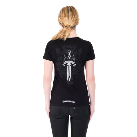 Chrome Hearts Ladies CH Vine Dagger Tee at Feuille Luxury - 3