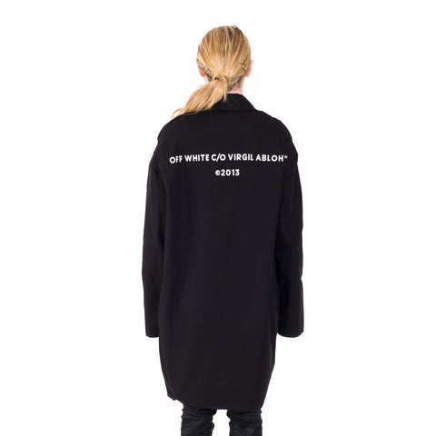Off-White Work Coat at Feuille Luxury - 6