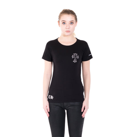 Chrome Hearts Ladies Cross Scroll Tee at Feuille Luxury - 1
