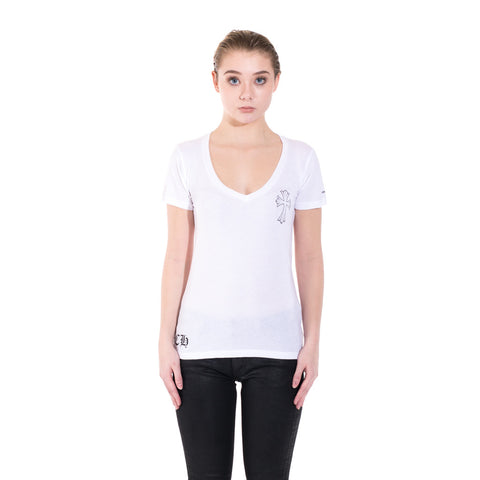 Ladies Cross Scroll Tee
