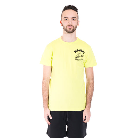 Off-White Construction Tee at Feuille Luxury - 1