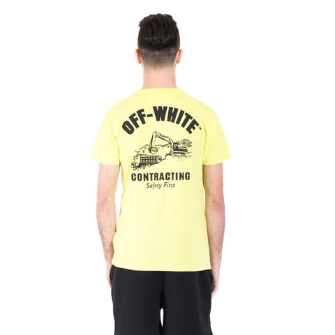 Off-White Construction Tee at Feuille Luxury - 4