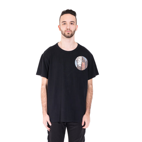 Off-White Circle Chirico Tee at Feuille Luxury - 1