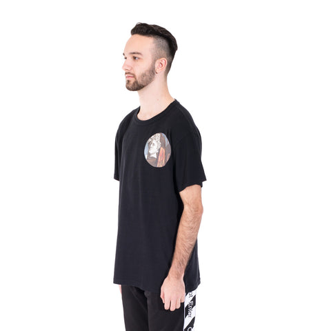 Off-White Circle Chirico Tee at Feuille Luxury - 3