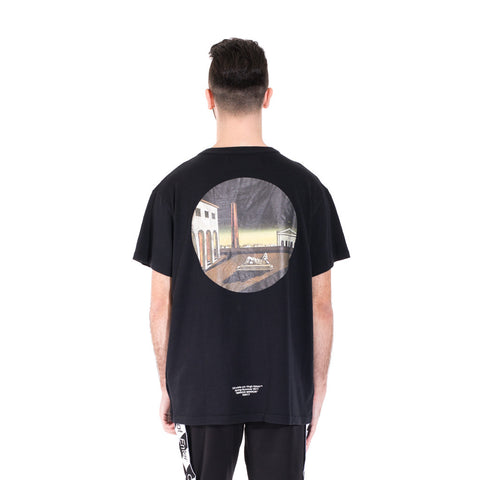 Off-White Circle Chirico Tee at Feuille Luxury - 4