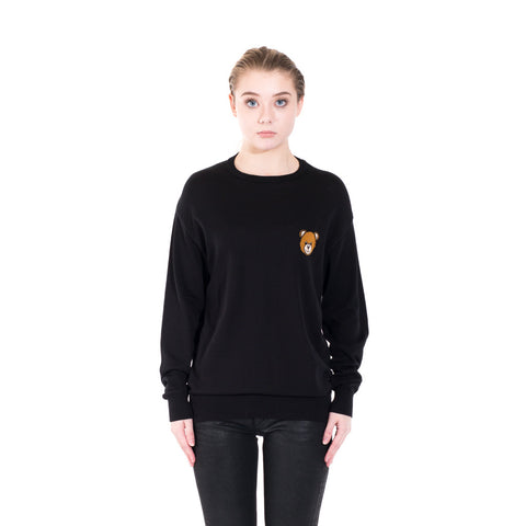 Moschino Bear Knit Sweater at Feuille Luxury - 1