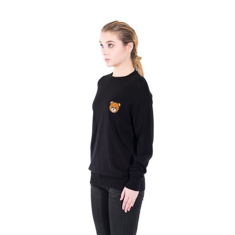 Moschino Bear Knit Sweater at Feuille Luxury - 2