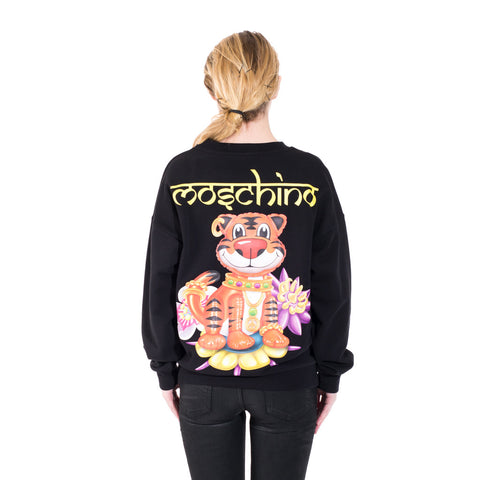 Moschino Tiger Sweater at Feuille Luxury - 6