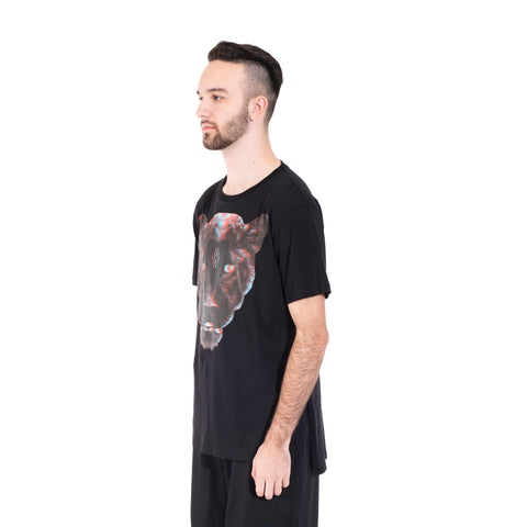 Marcelo Burlon Teodora Poncho Tee at Feuille Luxury - 3