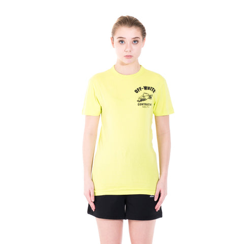 Off-White Construction Tee at Feuille Luxury - 2