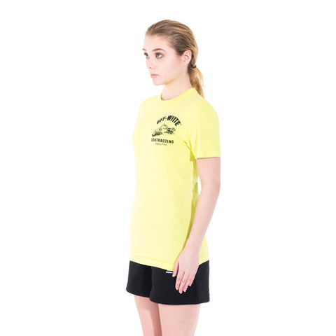 Off-White Construction Tee at Feuille Luxury - 5