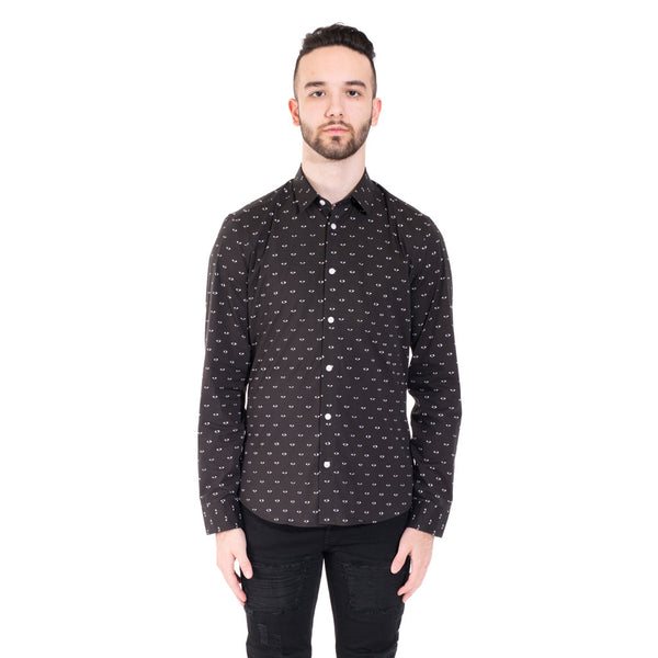 Kenzo All Over Eye Shirt at Feuille Luxury - 1