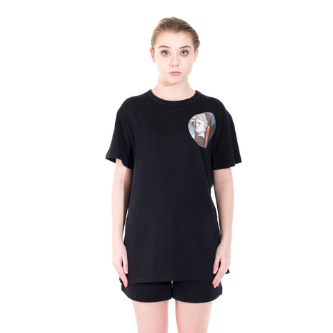 Off-White Circle Chirico Tee at Feuille Luxury - 2