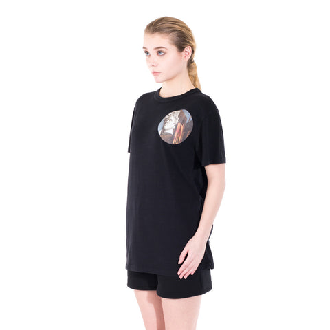 Off-White Circle Chirico Tee at Feuille Luxury - 5