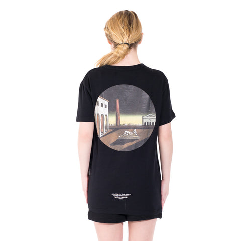 Off-White Circle Chirico Tee at Feuille Luxury - 6