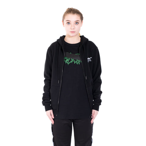 Off-White Off Zipped Hoodie at Feuille Luxury - 2