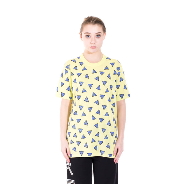 Kenzo All Over Triangle T-Shirt at Feuille Luxury - 2