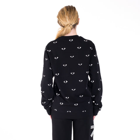 Kenzo All Over Eye Sweater at Feuille Luxury - 6