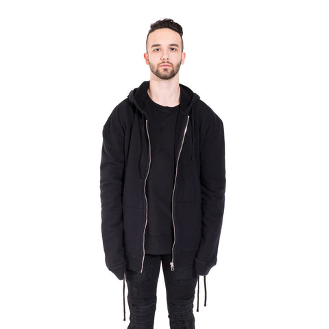 Faith Connexion Laced Zip Hoody at Feuille Luxury - 1
