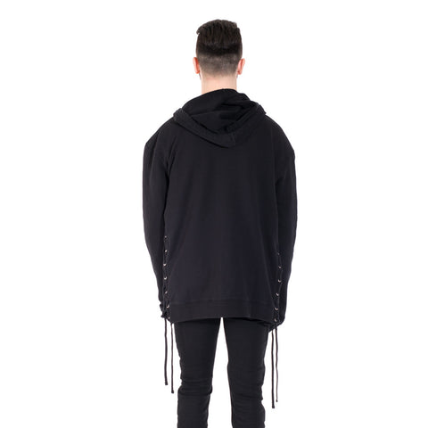 Faith Connexion Laced Zip Hoody at Feuille Luxury - 5