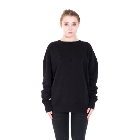 Faith Connexion Distressed Raglan Sweater at Feuille Luxury - 2