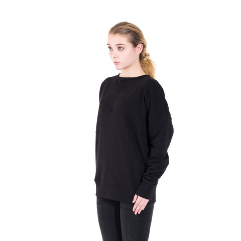 Faith Connexion Distressed Raglan Sweater at Feuille Luxury - 4