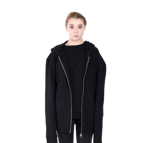 Faith Connexion Laced Zip Hoody at Feuille Luxury - 2