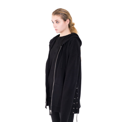 Faith Connexion Laced Zip Hoody at Feuille Luxury - 4
