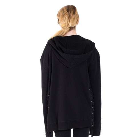 Faith Connexion Laced Zip Hoody at Feuille Luxury - 6