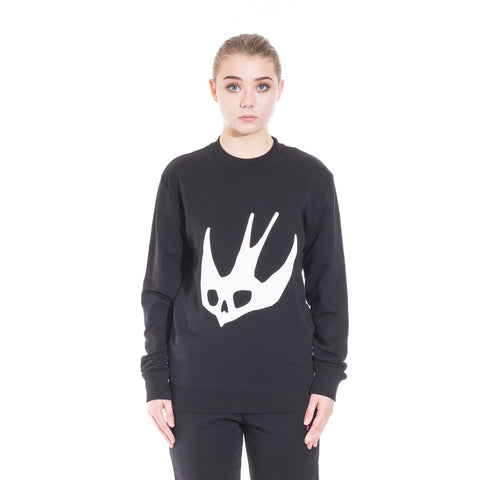 Alexander McQueen McQ Swallow Eyes Sweater at Feuille Luxury - 2