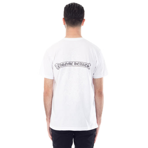 Cemetery Cross Scroll Tee