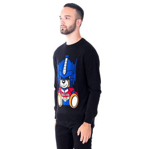Optimus Prime Bear Knit Sweater
