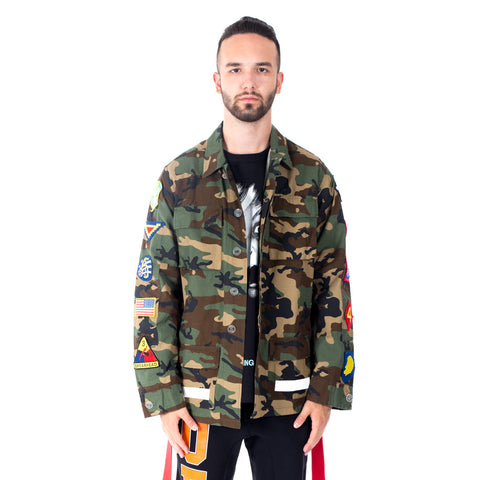 Archive Camouflage Field Jacket