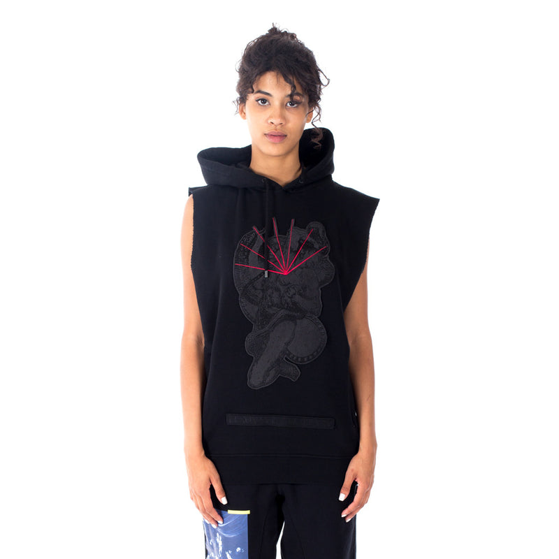 Rayen Sleeveless Hoody