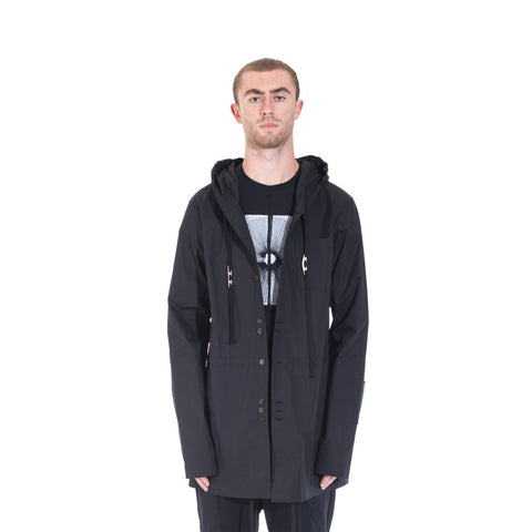 Damir Doma Socrate Linen Parka at Feuille Luxury - 1