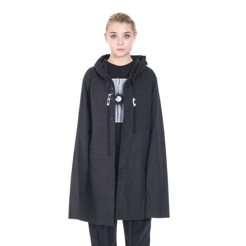 Damir Doma Socrate Linen Parka at Feuille Luxury - 2