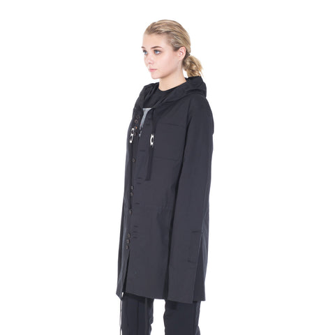 Damir Doma Socrate Linen Parka at Feuille Luxury - 4