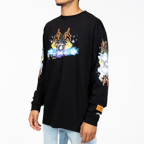 Tribal Wizard LS T-Shirt