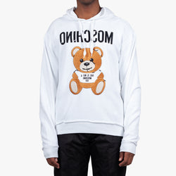 Embroidered Toy Bear Hoodie