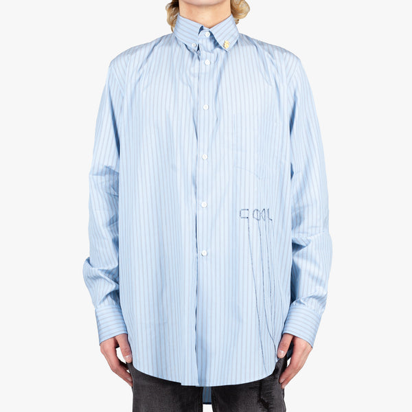 Oversize Striped Shirt