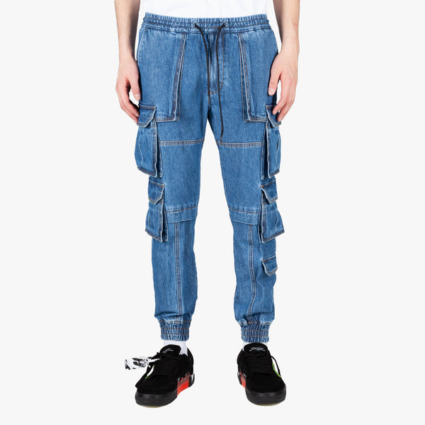 Denim Multicargo Pants